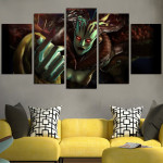Devil May Cry Echidna Wall Art Canvas