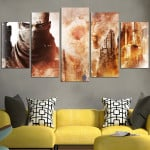 Journey Through The Ruins of Dubai In Spec Ops Wall Art Canvas