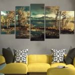 The Witcher Beautiful Scenery Wall Art Canvas