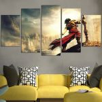 Prince Of Persia Game Wall Art Canvas