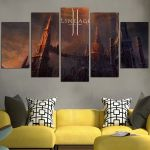 Lineage II The Chaotic Throne Wall Art Canvas