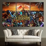 Picture LOL Wall Art Canvas