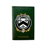 (Laser Personalized Text) Anderson Family Crest Minimalist Wallet K6