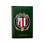 (Laser Personalized Text) Apsley Family Crest Minimalist Wallet K6