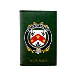 (Laser Personalized Text) Archer Family Crest Minimalist Wallet K6