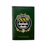 (Laser Personalized Text) Ardagh Family Crest Minimalist Wallet K6