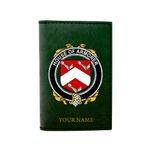 (Laser Personalized Text) Armorer Family Crest Minimalist Wallet K6