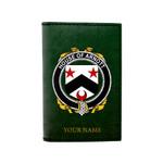 (Laser Personalized Text) Arnott Family Crest Minimalist Wallet K6