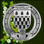 (Personalized), Irish Claddagh Coat of Arms Badge TH5