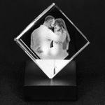 1stIreland Personalized Cut-Corner Cube TH7 (USA Shipping)