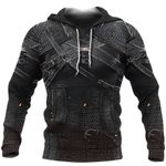 1stIreland Pullover Hoodie, 3D Witcher Armor TH00