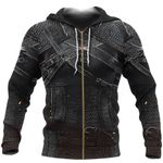 1stIreland Zip Up Hoodie, 3D Witcher Armor TH00