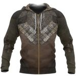 1stireland Zip Up Hoodie, Legolas Armor & Tunic 3D All Over Printed