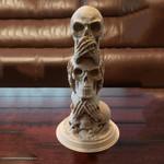 3 Wise Skulls