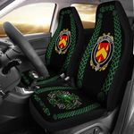 Abbott Ireland Shamrock Celtic Irish Surname Car Seat Covers TH7