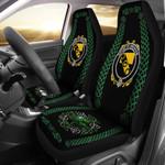 Abraham Ireland Shamrock Celtic Irish Surname Car Seat Covers TH7