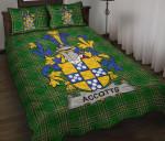 Accotts Ireland Quilt Bed Set Irish National Tartan A7