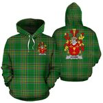 Adams Ireland Hoodie Irish National Tartan (Pullover) A7