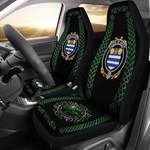 Aiken Ireland Shamrock Celtic Irish Surname Car Seat Covers TH7