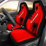 Albania Car Seat Covers Light Ray Version K12