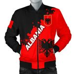 Albania Men Bomber Jacket Light Ray Version K12
