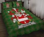 Alcock Ireland Quilt Bed Set Irish National Tartan A7
