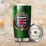 Aldborough Family Crest Ireland Shamrock Tumbler Cup  K6