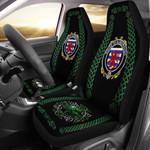 Aldborough Ireland Shamrock Celtic Irish Surname Car Seat Covers TH7
