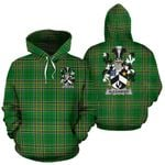 Alexander Ireland Hoodie Irish National Tartan (Pullover) A7