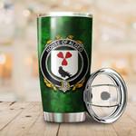 Algeo Family Crest Ireland Shamrock Tumbler Cup  K6