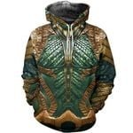 All Over Printed Aquaman Hoodie Th5