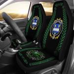 Alleet Ireland Shamrock Celtic Irish Surname Car Seat Covers TH7