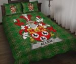 Allen Ireland Quilt Bed Set Irish National Tartan A7