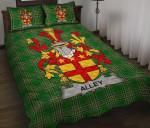 Alley Ireland Quilt Bed Set Irish National Tartan A7