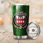 Allyn Family Crest Ireland Shamrock Tumbler Cup  K6