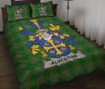 Alveston Ireland Quilt Bed Set Irish National Tartan A7