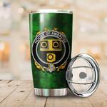 Ambrose Family Crest Ireland Shamrock Tumbler Cup  K6