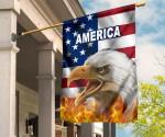 American Eagle Flag K8