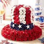 American Patriotic Uncle Sam Top Hat TH10