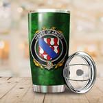 Amory Family Crest Ireland Shamrock Tumbler Cup  K6