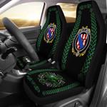 Amory Ireland Shamrock Celtic Irish Surname Car Seat Covers TH7