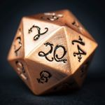 Ancient's Copper Dragon D20