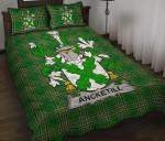Ancketill Ireland Quilt Bed Set Irish National Tartan A7