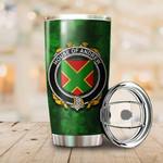 Andrew Family Crest Ireland Shamrock Tumbler Cup  K6