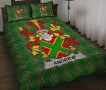 Andrew Ireland Quilt Bed Set Irish National Tartan A7