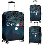 Aotearoa Anzac Luggage Covers Lest We Forget, Paua Sliver Fern Poppy K13