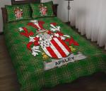 Apsley Ireland Quilt Bed Set Irish National Tartan A7