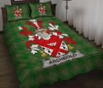 Archbold Ireland Quilt Bed Set Irish National Tartan A7