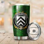 Archdekin Family Crest Ireland Shamrock Tumbler Cup  K6