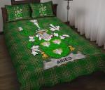 Aries Ireland Quilt Bed Set Irish National Tartan A7
